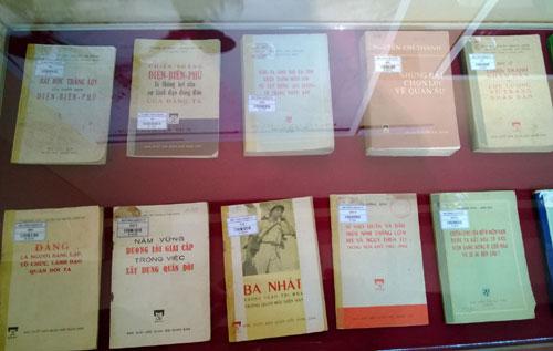 Một số cuốn sách, bài viết của Đại tướng Nguyễn Chí Thanh.