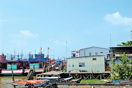 Bến Tắm Ngựa  ngày xưa,  nay là cuối đường  Nguyễn Huỳnh Đức,  P.2, TP. Mỹ Tho.