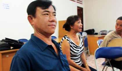 Tấn Hưng trong một buổi tập chuẩn bị dự thi cấp toàn quốc.