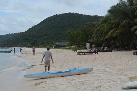 Vẻ đẹp hoang sơ hùng vĩ của đảo.
