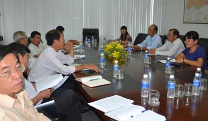 Họp bàn kế hoạch tổ chức chuyến đi khảo sát thực tế tại vùng ĐTM.
