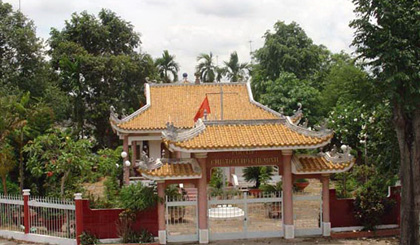 Uncle Ho Temple in Tan Thanh Commune, Cai Be District