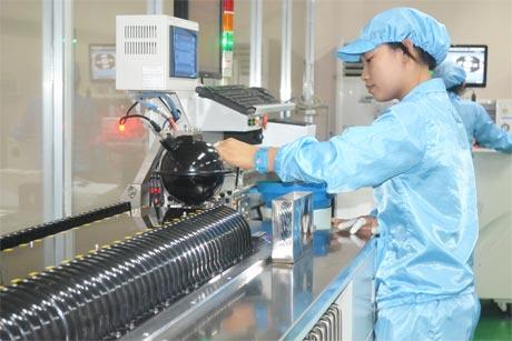 Dây chuyền sản xuất chip led của công ty Duhal.