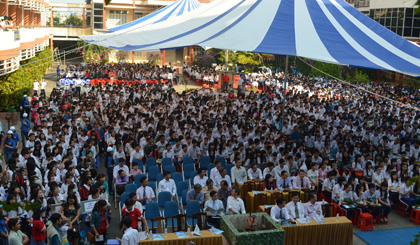 Nearly 3,000 students attend