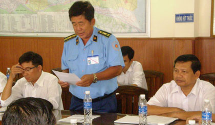 Ông Nguyễn Văn Bảy, Phó Chánh Thanh tra Sở GTVT thông qua Kết luận Kiểm tra của Tổng Cục Đường bộ Việt Nam