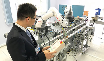 Factory Automation paves way for establishment of robot training center