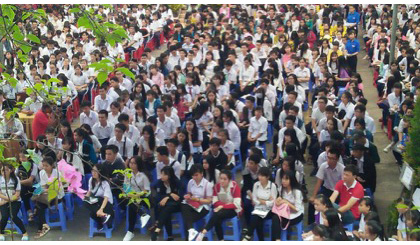 Nearly 3,500 students attend