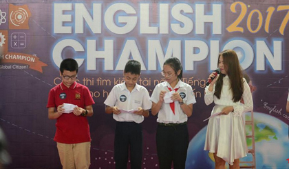 Over 500 students sit for third round of English Champion 2017