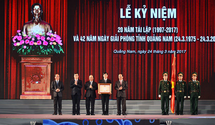 Quang Nam urged to become well-off province as it marks re-establishment
