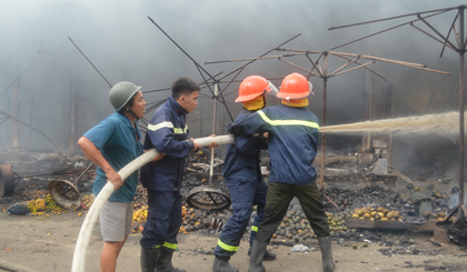 Tien Giang strengthens the task of preventing fire and exploision in dry season