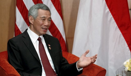 Singapore's Prime Minister Lee Hsien Loong. (Credit: Reuters)