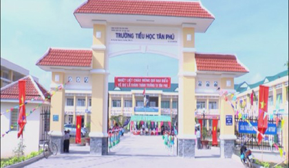 New shool inaugurated in Tan Phu Dong district