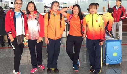 Vietnam grabs bronzes at Asian wrestling championships