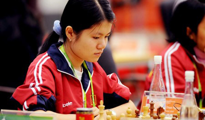 Nguyen leads in Asian chess championship
