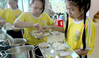 Online meal plan for schools launched in southern Vietnamese province