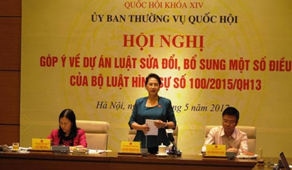 Conference discusses amendments to 2015 Penal Code