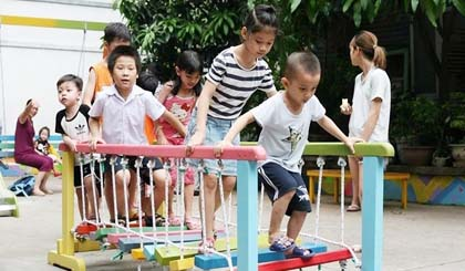 Creating playgrounds in urban area