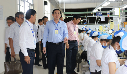 Chairman of the PPC continues to meet enterprises