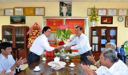 Provincial leaders visits Tien Giang Association for the Elderly
