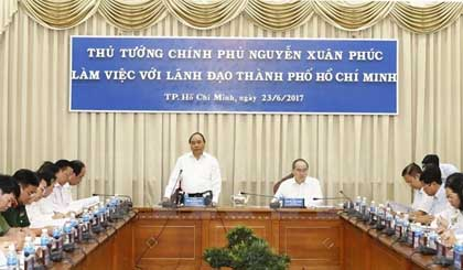 PM urges Ho Chi Minh City to create favourable start-up environment