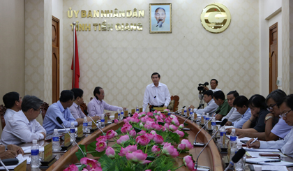 Socio-economic of Tien Giang province positively changes