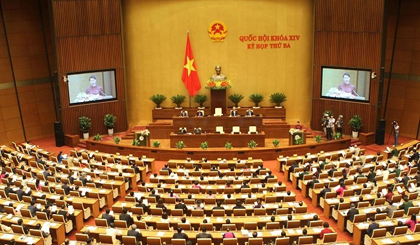 Eight resolutions of National Assembly announced