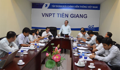 VNPT Tien Giang continues to improve the quality of services