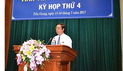 Tien Giang People's Council convenes 4th session