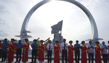 Monument dedicated to Gac Ma soldiers inaugurated in Khanh Hoa province