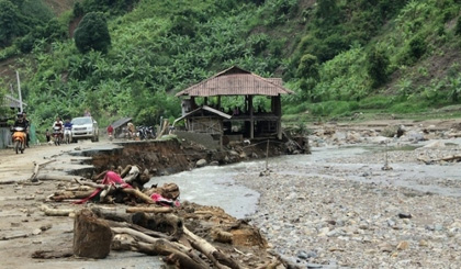 68 dead, missing, injured in floods in northern localities