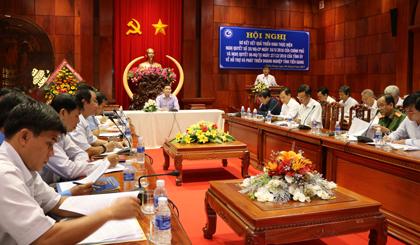 Hội nghị sơ kết kết quả thực hiện Nghị quyết số 35/NQ-CP của Chính phủ và Nghị quyết 06-NQ/TU của Tỉnh ủy Tiền Giang