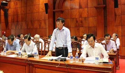 Ông Trần Đỗ Liêm, Phó Chủ tịch Hiệp hội DN tỉnh, Giám đốc HTX Rạch Gầm đã nêu rất nhiều vấn đề và điều được ông Liêm nhấn mạnh, tỉnh Tiền Giang đang tạo được niềm tin với cộng đồng DN cũng như nhà đầu tư