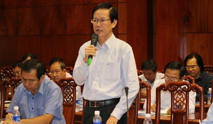 Ông Nguyễn Hữu Đệ, Trưởng Văn phòng Đại diện VCCI tại tỉnh Tiền Giang đánh giá cao những nỗ lực của tỉnh Tiền Giang trong triển khai thực hiện Nghị quyết số 35 và Nghị quyết 06, với nhiều giải pháp hỗ trợ và phát triển DN