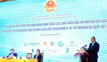 PM asks Mekong Dea to develop smart, sustainable agricuure