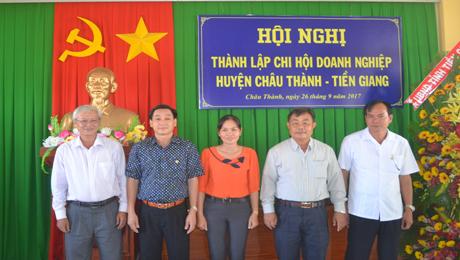 BCH Chi hội Doanh nghiệp huyện Châu Thành