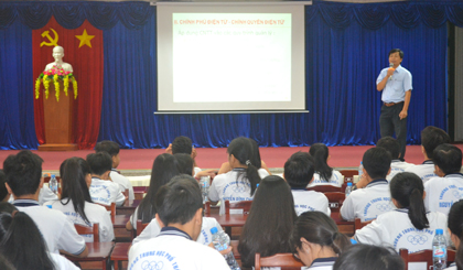 Students provided knowledges about online public service