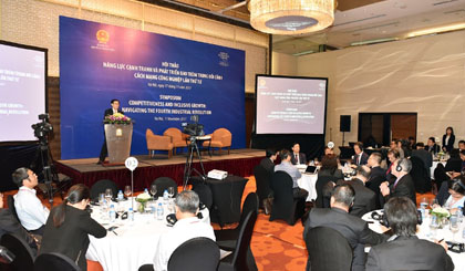 Industry 4.0 offers great development opportunities for Vietnam: Deputy PM Hue