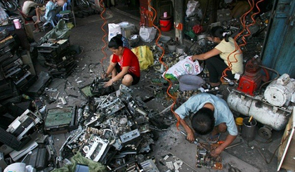 Discarded electronic waste is forecast to rapidly increase in Việt Nam.