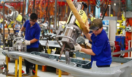 Industrial production index continues to make breakthrough