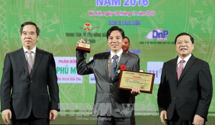Three typical agricuural products of Tien Giang province honored