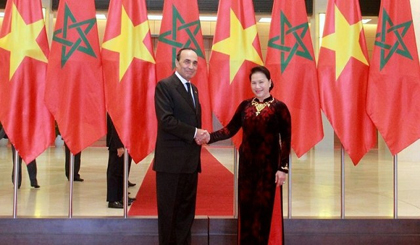 President of Moroccan House of Representatives concludes Vietnam visit