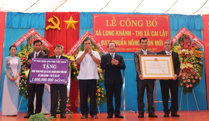 Long Khanh recognized as the new rural commune