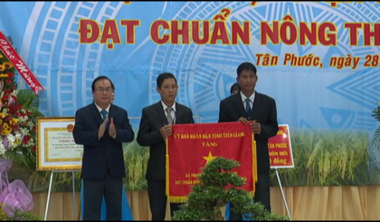 Thanh Hoa is recognized as the new rural commune