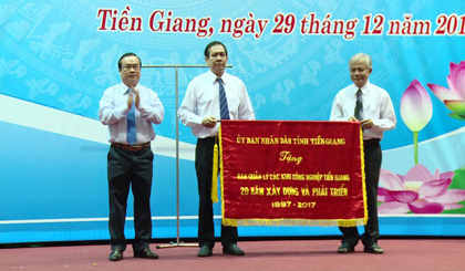 Tien Giang Management Board of Industrial Zones celebrates its 20th anniversary of establishment