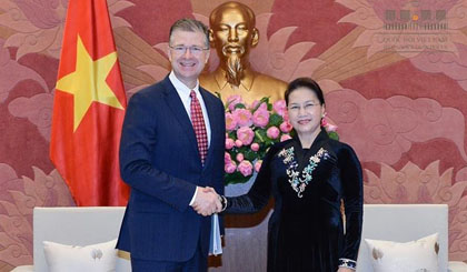 Vietnam keen to deepen comprehensive partnership with US: top legislator