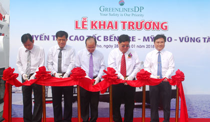 The My Tho-Ben Tre-Vung Tau high-speed train opened