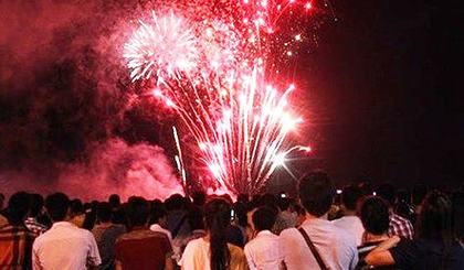 My Tho city to hold fireworks shows at lunar New Year's Eve