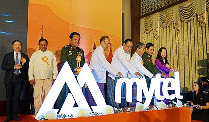 MyTel launches its first calls in Myanmar