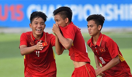 Vietnam U16s to play int'l friendly tournament in Japan