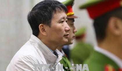 Bị cáo Trịnh Xuân Thanh. Ảnh TTXVN